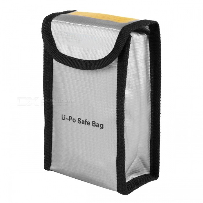 ENGPOW Explosion-proof Lipo Battery Safe Bag (100 x 115 x 75mm)