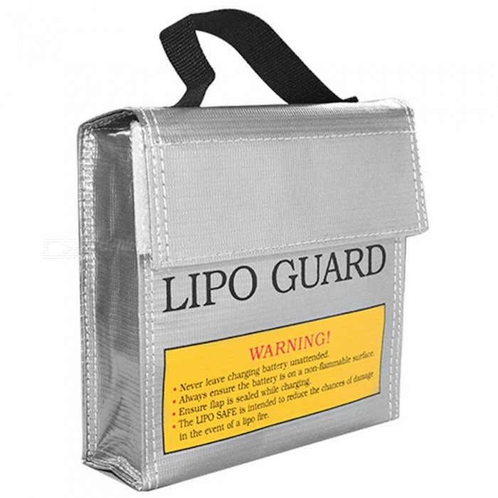 ENGPOW Explosion-proof Lipo Battery Safe Bag (155 x 50 x 155mm)