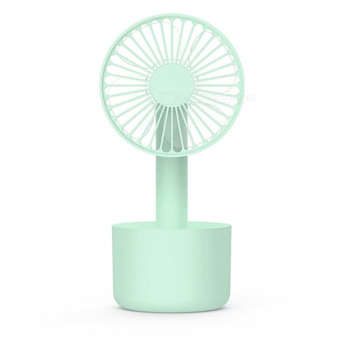 Portable Mini USB Charging Strong Wind Fan - Green