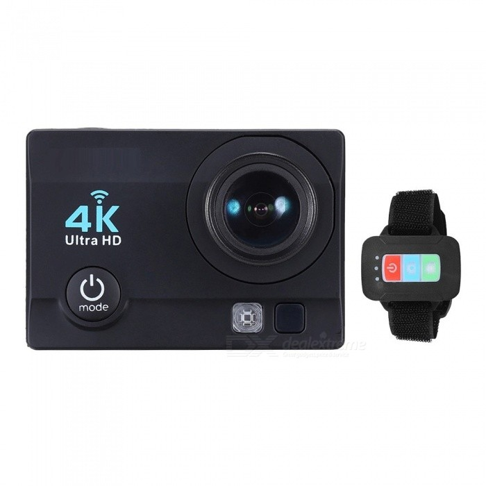 32GB 2 HD LCD Screen 4K 30fps 16MP Wi-Fi Sports Action Camera - BlackSport Cameras<br>Form  ColorBlack + 32GB Memory Shade Of ColorBlackMaterialABSQuantity1 DX.PCM.Model.AttributeModel.UnitImage SensorOthers,ov4689Anti-ShakeYesFocal DistancePhotographed function: Panoramic (5M/8M/12M/16M) DX.PCM.Model.AttributeModel.UnitFocusing RangePhotographed function: Panoramic (5M/8M/12M/16M)Built-in SpeedliteYesEffective Pixels4K 30fps, 2.7K 30fps, 1920 * 1080P 60/30fps, 1280 * 720p 90/60/30fpsImagesJPGStill Image Resolution12M(4032 x 3024), 10M(3648 x 2736), 8M(3264 x 2448)/ 6M(2000 x 3000), 5M(2592 x 1994), 3M(2048 x 1536), 2MHD(1920 x 1080), VGA(640 x 480)VideoMOVVideo Resolution4K 30fps, 2.7K 30fps, 1920 x 1080P 60/30fps, 1280 x 720p 90/60/30fpsVideo Frame Rate30,60Cycle RecordYesISONoExposure CompensationOthers,-3/-2/-1/0/+1/+2/+3)Supports Card TypeSDSupports Max. Capacity64 DX.PCM.Model.AttributeModel.UnitBuilt-in Memory / RAMNoLCD ScreenYesBattery Measured Capacity 900 DX.PCM.Model.AttributeModel.UnitNominal Capacity900 DX.PCM.Model.AttributeModel.UnitBattery included or notYesPacking List1 x Action Camera with Battery1 x 32GB Memory 1 x Remote Control1 x Waterproof Case1 x Waterproof Case Back Door1 x USB Cable1 x J-shape Mount1 x Bicycle Mount2 x Helmet Mounts1 x Bracket1 x Clip1 x Fix Base3 x Switch Supports2 x Adhesive Tapes1 x Wire4 x Ties4 x Bandages1 x Cleaning Cloth1 x User Manual(English)<br>