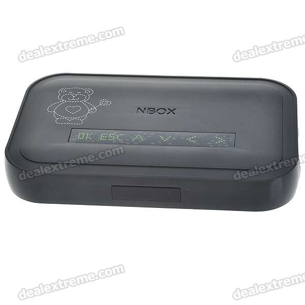 N33 1080P H.264/RM/RMVB Full HD Media Player with HDMI/SDHC/USB Host/SPDIF/L/R/CVBS