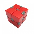 Dayspirit Infinity Cube Magic Square Infinite Flip Spinner Spielzeug - Rot