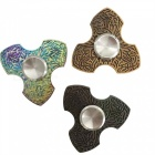 OJADE Hand Spinner Fidgets Relief Fingertip Gyro Toy - Multicolor