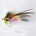 JR-0003 Insect Fly Style Artificial Fishing Bait Lure - Multicolor