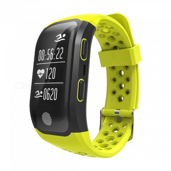 IP68 Waterproof Bluetooth Smart Bracelet with Sleep Monitor - YellowSmart Bracelets<br>Form  ColorBlack + YellowQuantity1 DX.PCM.Model.AttributeModel.UnitMaterialABSShade Of ColorBlackWater-proofIP68Bluetooth VersionBluetooth V4.0Touch Screen TypeYesCompatible OSfor IOS8 &amp; Android4.3 or aboveBattery Capacity230 DX.PCM.Model.AttributeModel.UnitBattery TypeLi-polymer batteryStandby Time5 DX.PCM.Model.AttributeModel.UnitPacking List1 x Wristband1 x Instruction<br>