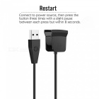 Miimall Replacement Charging Cable with Reset for Fitbit Alta HR