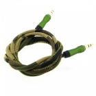 Maikou 3.5mm Male till Male Audio AUX Cable-kamouflage (100cm)
