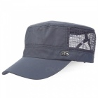 Outdoor Hiking Fishing Men And Women Sunscreen Sun Hat - Dark Grey
