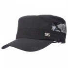 Outdoor Hiking Fishing Men And Women Sunscreen Sun Hat - Black