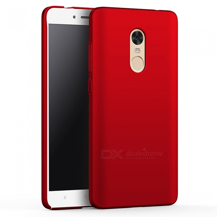 Naxtop PC Hard Protective Case for Redmi Note 4X - RedPlastic Cases<br>Form  ColorRedModelN/AMaterialPCQuantity1 DX.PCM.Model.AttributeModel.UnitShade Of ColorRedCompatible ModelsXiaomi Redmi Note 4X(4GB+64GB)FeaturesDust-proof,Shock-proof,Abrasion resistance,Easy-to-removePacking List1 x Case<br>