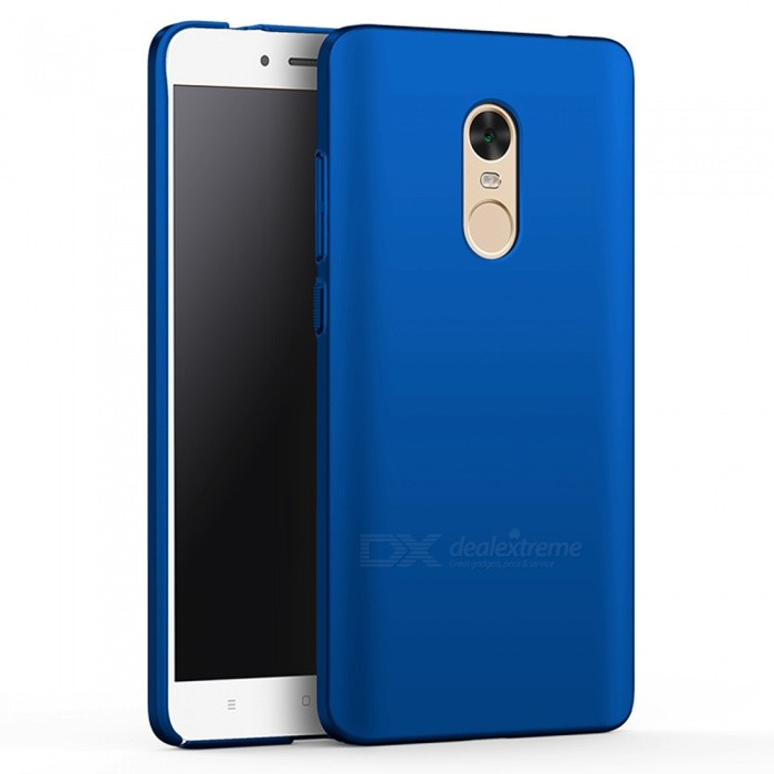 Naxtop PC Hard Protective Case for Redmi Note 4X - BluePlastic Cases<br>Form  ColorBlueModelN/AMaterialPCQuantity1 DX.PCM.Model.AttributeModel.UnitShade Of ColorBlueCompatible ModelsXiaomi Redmi Note 4X(4GB+64GB)FeaturesDust-proof,Shock-proof,Abrasion resistance,Easy-to-removePacking List1 x Case<br>