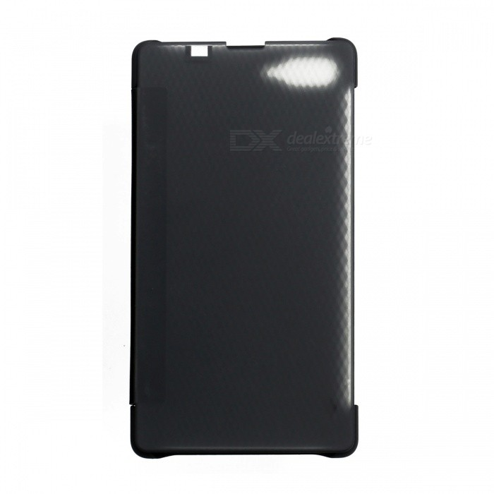 DOOGEE PU Plastic Flip-Open Case for DOOGEE MIX - Black