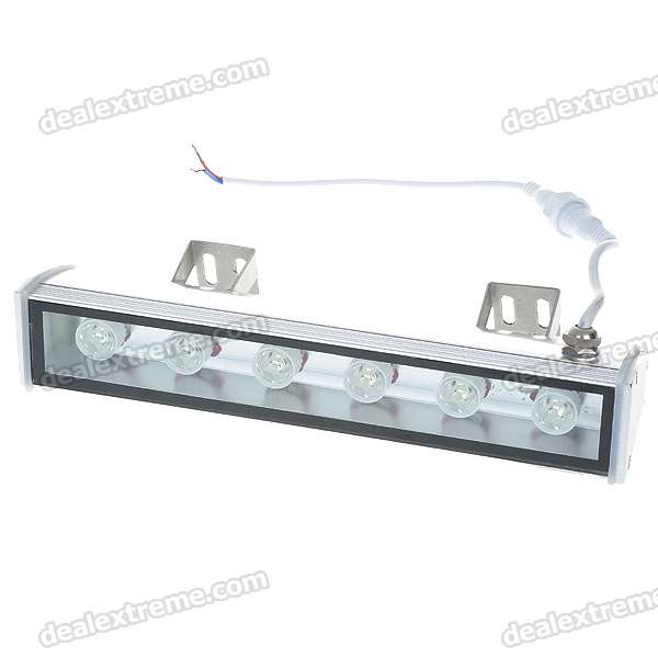 6W 6-LED 660lm 6500K Cold White Wall Washer Lamp (AC 85~265V)