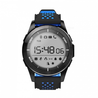 NO.1 F3 IP68 Waterproof Sport Smart Watch Bracelet - Black, Blue