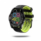 NO.1 Gs8 MT2502 Smart Watch with Blood Pressure Monitor - Black, Green