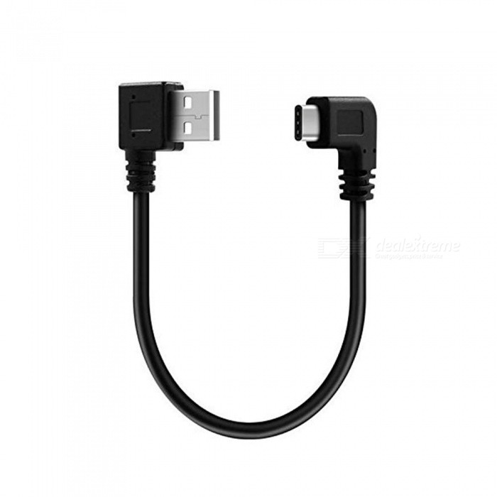 Cwxuan USB 3.1 Type-C Male to USB 2.0 Male Cable - Black