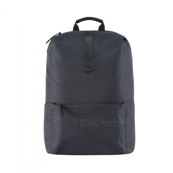 Xiaomi 20L College Casual Shoulder Bag Backpack - BlackForm  ColorBlackBrandOthers,Others,XiaomiModelBackpackQuantity1 DX.PCM.Model.AttributeModel.UnitMaterial600D LiningTypeOthers,BackpackGear Capacity20 DX.PCM.Model.AttributeModel.UnitCapacity Range0L~20LRaincover includedYesPacking List1 x Backpack<br>