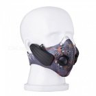 Training Mask Type Wireless Bone Conduction Headphone - Purple