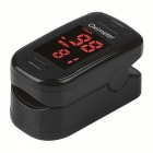 Mini Portable Fingertip Blood Pulse Oximeter - Black