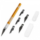 AC-38 Woodworking DIY Carving Hand Knife - Yellow