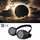 Solar Eclipse Safe Observing Spectacles Goggles - Black