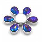 OJADE 6-Petal Style Hand Spinner Toy Anti-Stress Fingertip Gyroscope