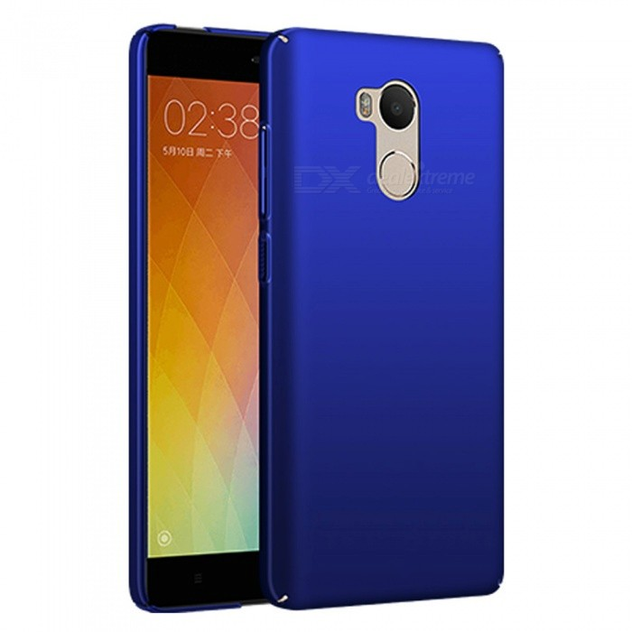 Naxtop PC Hard Protective Back Case for Xiaomi Redmi 4 - BluePlastic Cases<br>Form  ColorBlueModelN/AMaterialPCQuantity1 pieceShade Of ColorBlueCompatible ModelsXiaomi Redmi 4(3GB+32GB)FeaturesDust-proof,Shock-proof,Abrasion resistance,Easy-to-removePacking List1 x Case<br>
