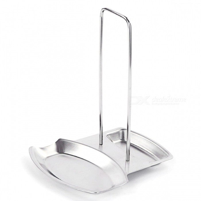 Stainless Steel Pot Rack Kitchen Supplies Pot Cover Holder - SilverKitchen Gadgets<br>Form  ColorSilverMaterialStainless SteelQuantity1 setPacking List1 x Holder<br>