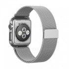 Miimall magnetmagnetband med fodral för 42mm Apple Watch-silver