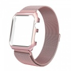 Miimall Mesh Magnetic Band with Case for 42mm Apple Watch - Rose Gold