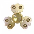 Alloy Finger Stress Relieving Gyro Rotator Spinner Toy for Kids, Adults