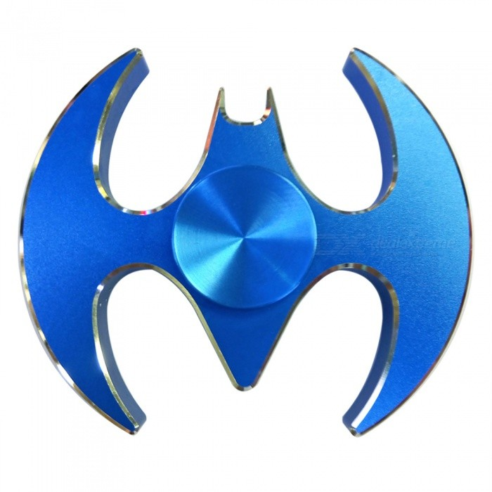 Dayspirit Bat Style Fidget Releasing Hand Spinner - BlueFinger Toys<br>Form  ColorBlueMaterialAlloyQuantity1 pieceSuitable Age 5-7 years,8-11 years,12-15 years,Grown upsPacking List1 x Spinner<br>