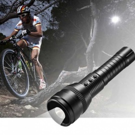 16GB Waterproof 1080P HD Strong Light Flashlight DV Camera - Black