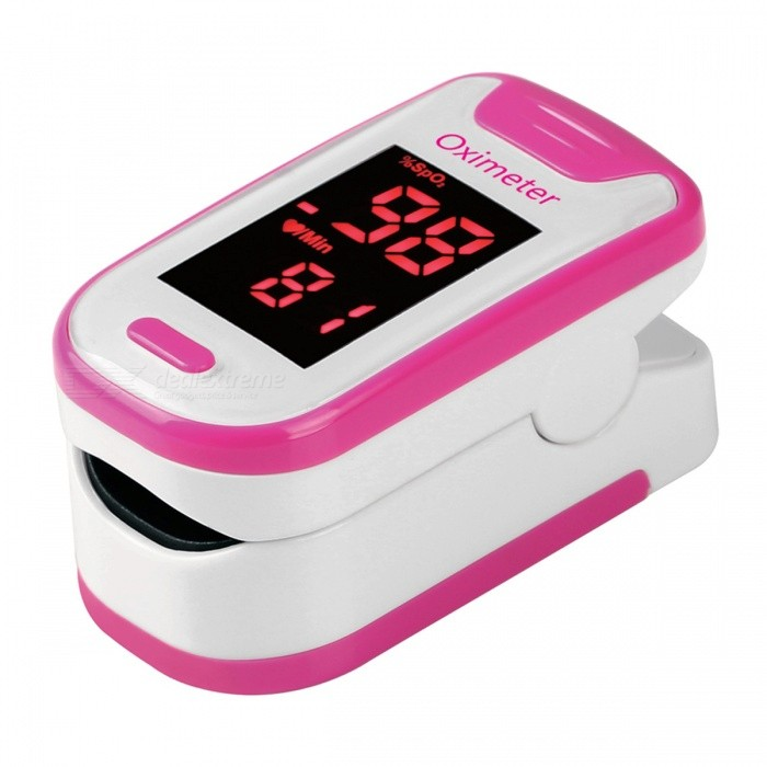 Mini Portable Fingertip Blood Pulse Oximeter - PinkHeart Rate Monitor<br>Form  ColorPink + WhiteShade Of ColorPinkMaterialABSQuantity1 DX.PCM.Model.AttributeModel.UnitDisplayLEDTarget PositionFingerBattery Number2Power SupplyAAABattery included or notNoPacking List1 x Fingertip Oximeter (without battery)1 x Lanyard1 x English user manual<br>