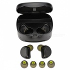 Wireless Bluetooth Earphone, Mini Stereo Bluetooth Hands-free Headsets with Charging Box - Black