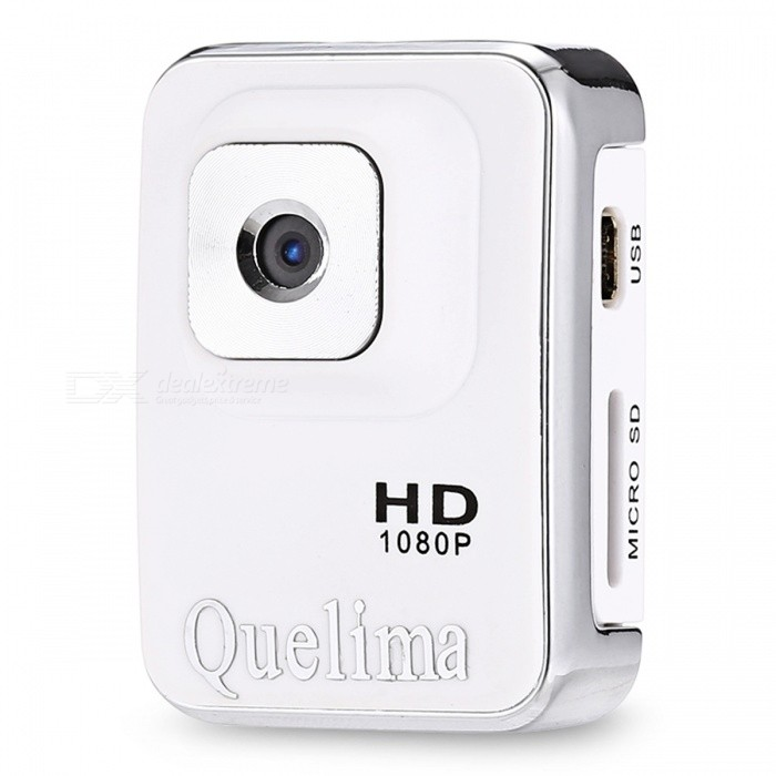 KELIMA Upgraded Version Mini HD 1.3MP Sports Camera - WhiteCamcorders<br>Form  ColorWhiteModelA3SShade Of ColorWhiteMaterialABSQuantity1 pieceImage SensorCMOSAnti-ShakeNoFocal Distance3.6 mmFocusing Range3.6Wide Angle120ApertureF2.0Effective Pixels12MPPicture FormatsOthers,JPGStill Image Resolution4032 x 3024Video FormatAVIVideo Resolution1280 x 720P, 1920 x 1080PVideo Frame Rate30Cycle RecordNoISO100Exposure CompensationNoSupports Card TypeTFSupports Max. Capacity32 GBBuilt-in Memory / RAMNoLCD ScreenNoBattery included or notYesBattery Measured Capacity 200 mAhNominal Capacity200 mAhBattery TypeLi-polymer batteryVoltage5 VBattery Charging Time2-3HOURWaterproofNoPacking List1 x Mini Camera1 x Bracket1 x Lanyard 1 x Charging line 1 x Manual<br>