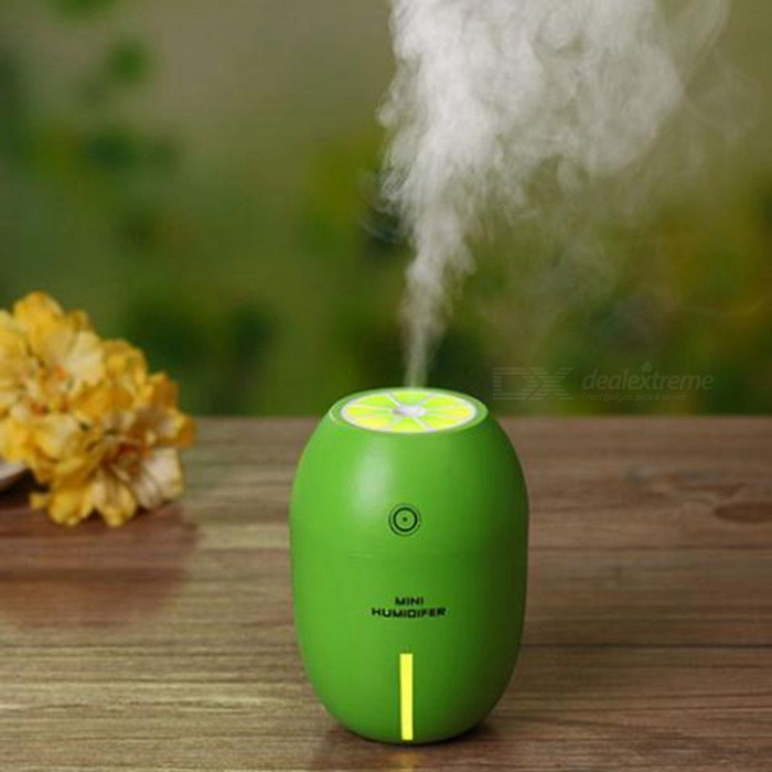 humidificateur air de pulv risation mute usb au citron vert pour la maison vert envoie. Black Bedroom Furniture Sets. Home Design Ideas