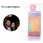 YWXLight Portable Rechargeable Fill Light for Phone Camera - Pink