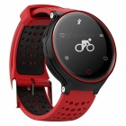 X2 IP68 Waterproof Smart Bracelet Fitness Tracker - Red, Black