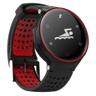 X2 IP68 Wasserdichtes Smart Armband Fitness Tracker - Rot, Schwarz