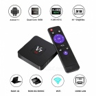 Android TV BOX Android 7.1 RK3328 Quad-Core 2.4G Wi-Fi USB3.0 4K HD Smart TV Player, EU Plug