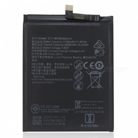 Replacement 3200mAh Battery for Huawei P10 - Black
