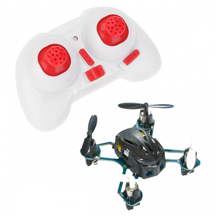 Hubsan NANO Q4 H111 4-CH Mini Remote Control R/C Quadcopter - BlackR/C Airplanes&amp;Quadcopters<br>Form  ColorBlack + WhiteModelH111MaterialPlasticQuantity1 setShade Of ColorBlackGyroscopeYesChannels Quanlity4 channelFunctionUp,Down,Left,Right,Forward,Backward,Stop,Sideward flightRemote TypeRadio ControlRemote control frequency2.4GHzRemote Control Range50 mSuitable Age 8-11 years,12-15 years,Grown upsCameraNoCamera PixelNoLamp YesBattery TypeLi-polymer batteryBattery Capacity100 mAhCharging Time25 minutesWorking Time4~5 minutesRemote Controller Battery TypeAAARemote Controller Battery Number2Remote Control TypeWirelessModelMode 2 (Left Throttle Hand)Packing List1 x H111 Black aircraft1 x H111-07 remote control1 x H111-06 USB charging cable (60mm)1 x H111-05 main propeller (4pcs / package)1 x Instruction (English)<br>