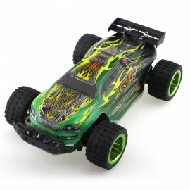 JJRC Q36 2.4G 4WD 1/26 30+km/h Monster Truck RC Car - Green