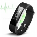 Supports Heart Rate Test, Pedometer, Call Message Reminder, WeChat Push, Anti-Lost Functions