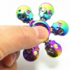 6-Skull Shape Zinc Alloy Stress Relief R188 Fidget Spinner - Colorful