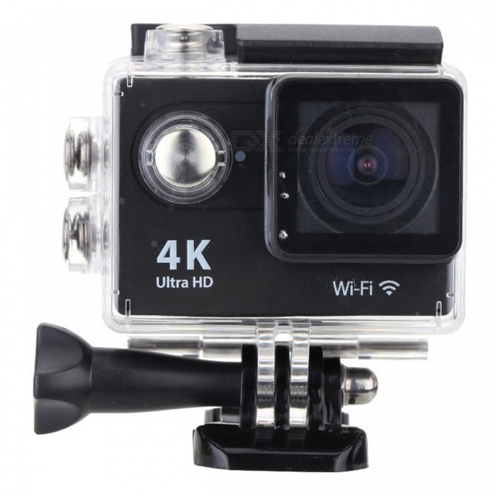 16GB 2.0 LCD HD Wi-Fi 4K 1080p 60fps 12MP Action Camera - BlackSport Cameras<br>Form  Color Black + 16GB MemoryShade Of ColorBlackMaterialABSQuantity1 DX.PCM.Model.AttributeModel.UnitImage SensorOthers,12 Mega Pixel OV4689Anti-ShakeYesFocal DistanceFocusing RangePhotographed function: Panoramic (5M/8M/12M/16M) DX.PCM.Model.AttributeModel.UnitFocusing RangeFocusing RangePhotographed function: Panoramic (5M/8M/12M/16M)Effective Pixels4K 25fps/ 2.7K 30fps/ 1080P 60fps/ 1080P 30fps/ 720 60fpsImagesJPGStill Image Resolution12M(4000 x 3000)/ 8M(3264 x 2448)/ 5M(2592 x 1944)/ 4M(2304 x 1728)VideoMOVVideo Resolution4K 25fps/ 2.7K 30fps/ 1080P 60fps/ 1080P 30fps/ 720 60fpsVideo Frame Rate30,60Cycle RecordYesISONoExposure CompensationNoSupports Card TypeSDSupports Max. Capacity32 DX.PCM.Model.AttributeModel.UnitLCD ScreenYesScreen Size2 DX.PCM.Model.AttributeModel.UnitBattery Measured Capacity 1050 DX.PCM.Model.AttributeModel.UnitNominal Capacity1050 DX.PCM.Model.AttributeModel.UnitBattery included or notYesPacking List1 x Mini Sport Camera1 x Waterproof Case1 x Power adapter1 x 16GB Memory1 x Battery1 x USB Cable1 x Bicycle Stand1 x Camera Bracket1 x Clip1 x Fixed Base1 x J-shaped Mount Base1 x Replacement Waterproof Case Back1 x Wiper2 x Adhesive Tapes2 x Helmet Bases3 x Switch Supports2 x Bandages4 x Ribbon cables1 x Wire Rope1 x User Manual(English)<br>