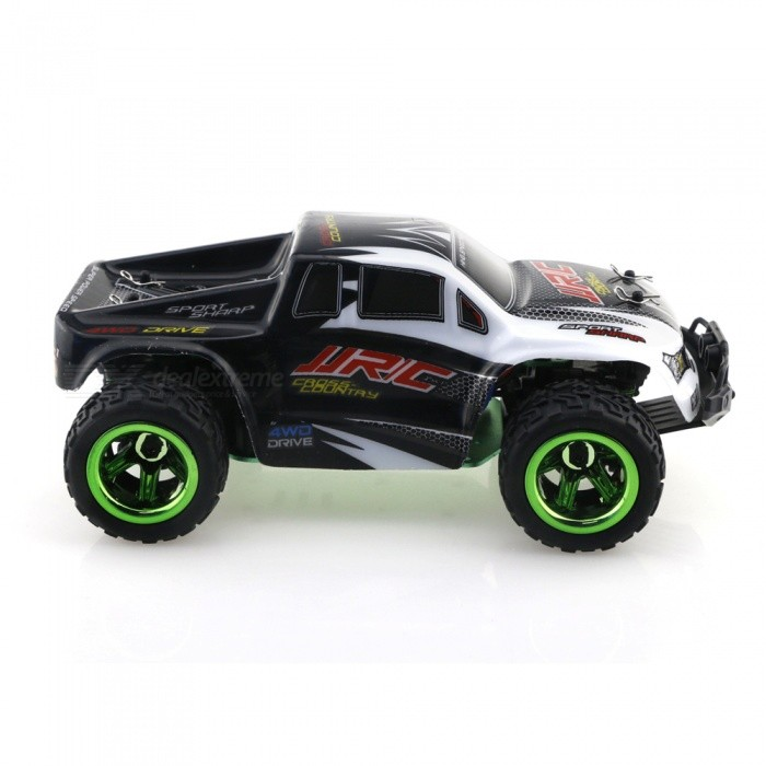 jjrc q35 2 4g 4wd 1 26 30 km h voiture monster truck rc noir envoie gratuit dealextreme. Black Bedroom Furniture Sets. Home Design Ideas
