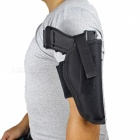 Outdoor Removable Tactics Lower Leg Ankle Pistol Holster - Black
