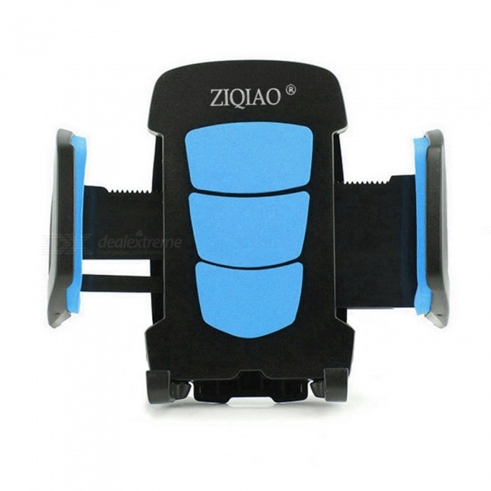 ZIQIAO Rotatable Car Air Vent Mount GPS Phone Bracket - BlueGPS Holders<br>Form  ColorBlue + BlackModelN/AQuantity1 DX.PCM.Model.AttributeModel.UnitMaterialABSApplicable ProductsIPHONE 5,IPHONE 4,GPS,OthersAdjustable HeightFixedAdjustable Width:5 ~ 10cmRotation360 DX.PCM.Model.AttributeModel.UnitMax. Load2.5 DX.PCM.Model.AttributeModel.UnitPacking List1 x Holder<br>